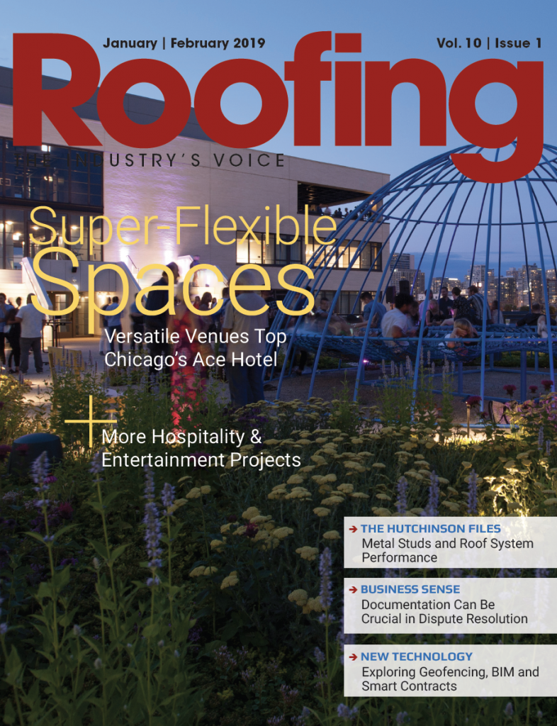 Roofing Magazine Cover